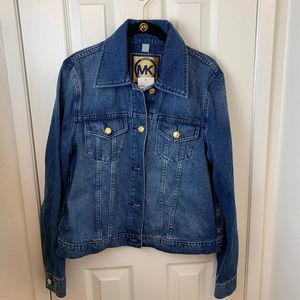 NWT Michael Kors Denim Jacket. Large